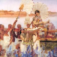 Alma-tadema The Finding Of Moses-large