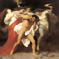 Bouguereau Orestes Pursued By The Furies
