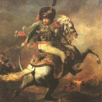 Gericault Theodore Officer Of The Imperial Guard The Charging Chasseur