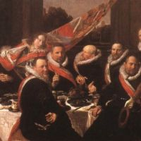 Hals Frans Banquet Of The Officers At The St George Civic Guard