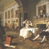 Hogarth William Marriage A La Mode Shortly After The Marriage