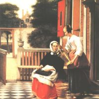 Hooch Pieter De A Woman And And Her Maid
