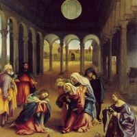 Lotto Lorenzo Christ Taking Leave Of His Mother