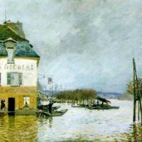 Sisley Alfred Innondations A Port Marly